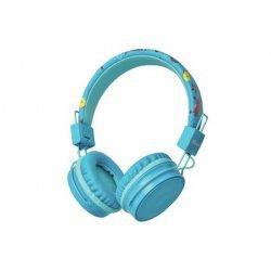 TRUST - Comi Bluetooth Wireless Kids Headphones - blue