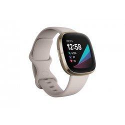 FITBIT Sense Smartwatch - Λευκό / Χρυσό