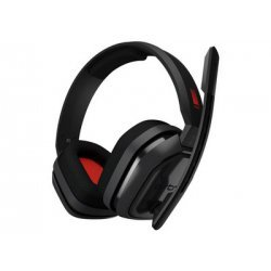 ASTRO A10 - Ενσύρματα Gaming Ακουστικά - Γκρι/Κόκκινο