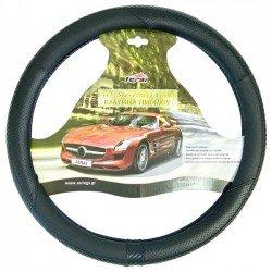 Κάλυμμα τιμονιού αυτοκινήτου δερματίνη X-Treme sport μαύρο medium 38cm