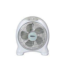DICTRO LUX Ανεμιστήρας Box Fan 40W λευκός 586009