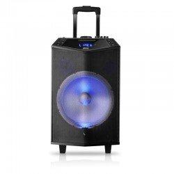 Akai ABTS-DK15 Φορητό ηχείο karaoke με Bluetooth, LED, ασ. μικρόφωνο και υποδοχή για μικρόφωνο και όργανο – 50 W RMS