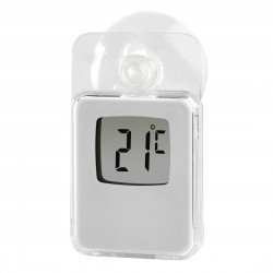 HAMA 176934 WINDOWTHERMOMETER IN/OUT WHITE