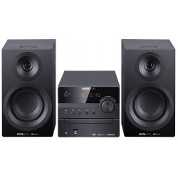 CRYSTAL AUDIO Mini HiFi 3D-HiFi360B Μαύρο