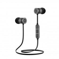 CRYSTAL AUDIO BIE-01-G BLUETOOTH BLACK-GREY IN-EAR EARPHONES