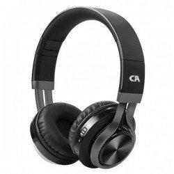 CRYSTAL AUDIO BT-01-K BLACK-GUNMENTAL ON-EAR HEADPHONES