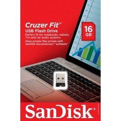 SanDisk SDCZ33-016G-G35 Cruzer Fit USB Flash Drive 16GB