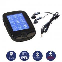 Osio SRM-8680B Mp3 / video player με Bluetooth και βηματομετρητή 8 GB