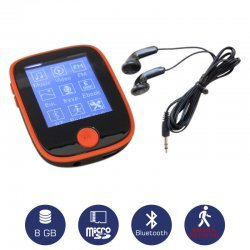 Osio SRM-8680R Mp3 / video player με Bluetooth και βηματομετρητή 8 GB