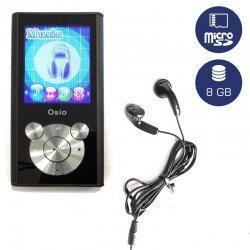 Osio SRM-9080BS MP3 video player 8 GB