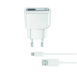CL 175442 ACHUSBMFIIPH5W CHARGER KIT IPHONE 5W LIGHT WHITE