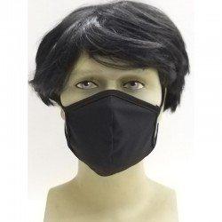 Osio OFM-3205BL Υφασμάτινη μάσκα προστασίας προσώπου μαύρη