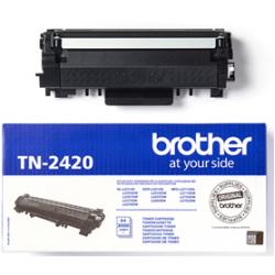 BROTHER TONER BLACK TN-2420, HIGH CAPACITY YIELD 3000 PAGES (HL-L2310D, HL-2350DW, HL-2370DN, MFC-L2710DW, MFC-L2710DN, MFC-L2750DW, DCP-L2510D, DCP-L2530DW)