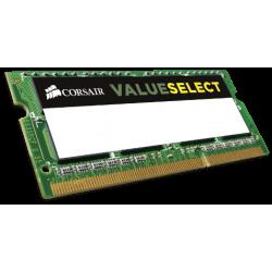 CORSAIR RAM SODIMM 8GB CMSO8GX3M1C1600C11, DDR3L, 1600MHz, LTW.