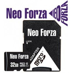 NEO FORZA SDHC MICRO 32GB, CLASS 10, UHS-1, SD ADAPTER, 5YW