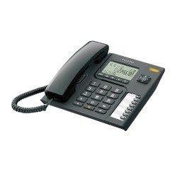 Alcatel Ενσύρματο τηλέφωνο με αναγνώριση κλήσης στην αναμονή Μαύρο T76