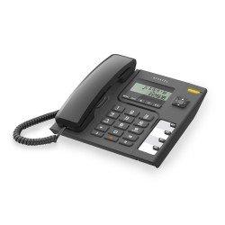 Alcatel Ενσύρματο τηλέφωνο με αναγνώριση κλήσης Μαύρο Τ56