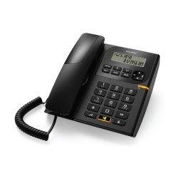 Alcatel Ενσύρματο τηλέφωνο με αναγνώριση κλήσης Μαύρο T58