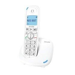 Alcatel Ασύρματο τηλέφωνο με αναγνώριση κλήσης στην αναμονή Λευκό XL575