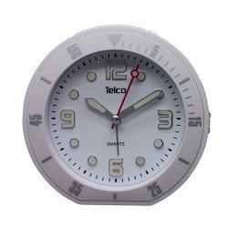 Telco Αναλογικό ρολόι με rubber Λευκό 2809