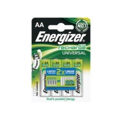 Energizer Επαναφορτιζόμενες μπαταρίες σε blister AA/1300mAh