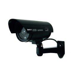 Telco Ομοίωμα dummy camera με flash light Led αδιάβροχh Μαύρη RL-027
