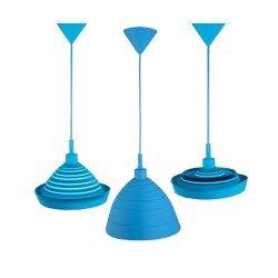 Ranex Φωτιστικό Οροφής Silly E27-60W Μπλε