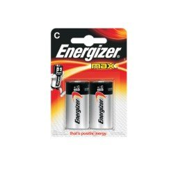 Energizer Αλκαλικές μπαταρίες 2 τεμαχίων C-LR14 MAX
