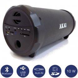 Akai ABTS-12C Φορητό ηχείο Bluetooth με USB, κάρτα SD και Aux-In – 10 W