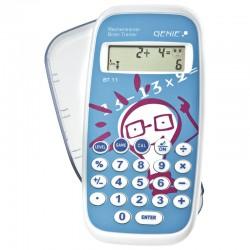 Genie BT 11 Εκπαιδευτική αριθμομηχανή τσέπης με 300.000 ασκήσεις