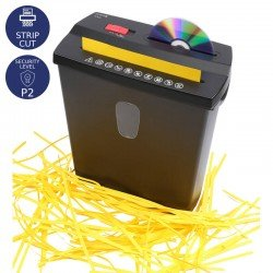 Olympia PS 38 CD Καταστροφέας εγγράφων καιωCD / DVD / πιστωτικών καρτών Strip Cut P2