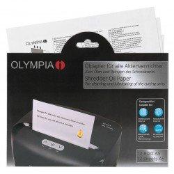 Olympia 9130 Χαρτί με λάδι για καταστροφείς εγγράφων 12 τμχ Α5