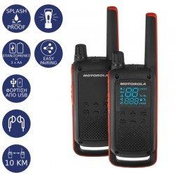 Motorola TALKABOUT T82 Ανθεκτικό στο νερό Walkie Talkie με φακό 10 km
