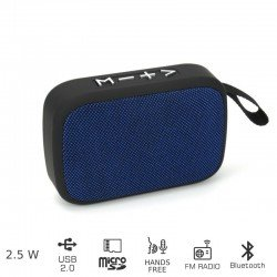 Akai ABTS-MS89B Φορητό ηχείο Bluetooth με USB και micro SD – 2.5 W
