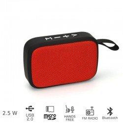 Akai ABTS-MS89R Φορητό ηχείο Bluetooth με USB και micro SD – 2.5 W