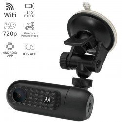 Motorola MDC10W HD Dash Camera αυτοκινήτου με WiFi και App