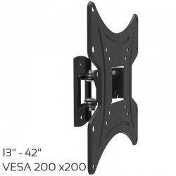 Osio OSM-1042 Βάση τηλεόρασης 13″ – 42″ – VESA 200 x 200