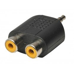 Heitech 09004030 Αντάπτορας RCA σε 3.5 mm