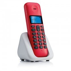 Motorola T301 Cherry (Ελληνικό Μενού) Ασύρματο τηλέφωνο με ανοιχτή ακρόαση