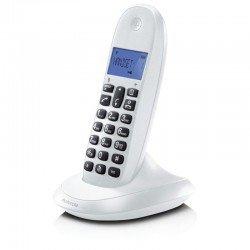 Motorola C1001LB Λευκό (Ελληνικό Μενού) Ασύρματο τηλέφωνο