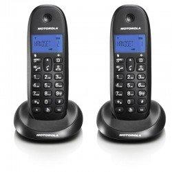 Motorola C1002LB  (Ελληνικό Μενού) Διπλό ασύρματο τηλέφωνο