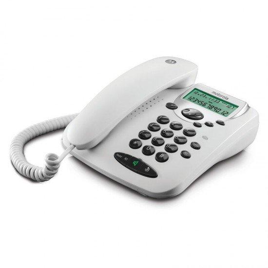 Motorola CT2W Λευκό Ενσύρματο τηλέφωνο με οθόνη