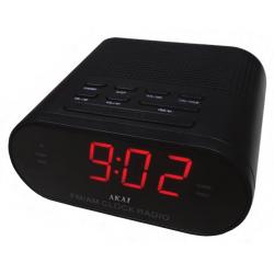 Akai CR002A-219 Ψηφιακό διπλό ράδιο ξυπνητήρι