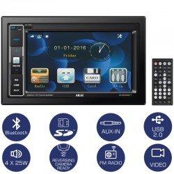 Akai CA-2DIN2217 Ηχοσύστημα αυτοκινήτου 22 DIN με Bluetooth, USB, κάρτα SD και οθόνη 6.2″