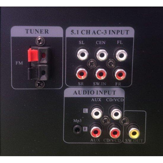 Akai AS110RA-320BT Ραδιοενισχυτής karaoke με Bluetooth και USB – 90 W