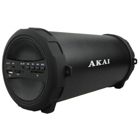 Akai ABTS-11B Φορητό ηχείο Bluetooth με ραδιόφωνο USB, Aux-In και κάρτα SD – 10 W