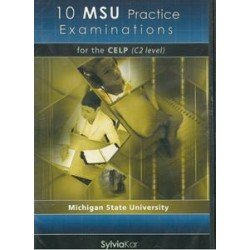 10 MSU PRACTICE EXAMINATIONS FOR THE CELP C2 CDs(5)
