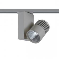 # GREY LED TRACK LIGHT 15W 3000K 2WIRES 36° 1100LM 230V Ra80-BIENAL1530G2