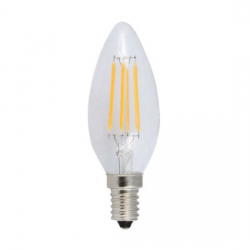 E14 CANDLE 6W 2700K 230V AC 550LM LED COG-DECO6WW