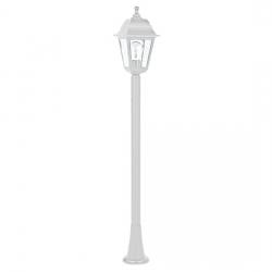 4S PLASTIC FLOOR GARDEN WHITE LUMINAIRE 100CM E27 IP44-PLGP5W